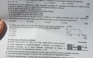 SUBIECTE FIZICA BAC 2020 - 4