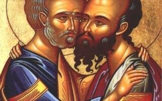 Sf. Apostoli Petru si Pavel