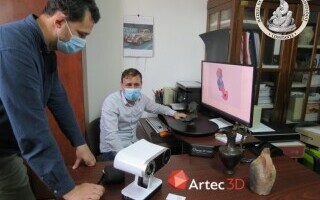 (P) Muzeul de Istorie și Arheologie din Constanța foloseste scanerul 3D Artec Leo pentru digitalizarea obiectelor de artă