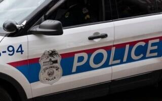 mașină poliție America