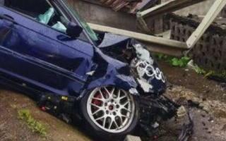 accident mașină Gherla