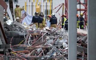 Clădirea prăbușită în Belgia, care a omorât un român și doi cetățeni moldoveni, inspectată cu 3 ore înainte de dezastru