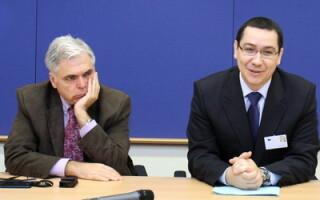 Adrian Severin si Victor Ponta
