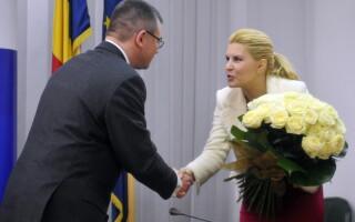 Mihai Razvan Ungureanu si Elena Udrea