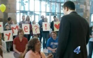 cerere in casatorie, aeroport