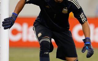 Sergio Romero, portarul Nationalei Argentinei