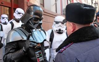 Darth Vader in Ucraina