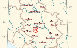 cutremur, Serbia