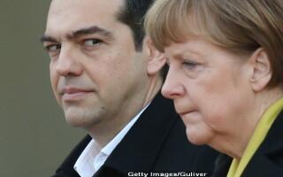Angela Merkel si Alexis Tsipras