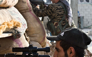 luptatori kurzi in Siria