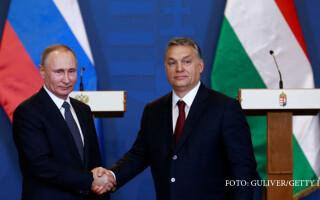 Viktor Orban si Vladimir Putin