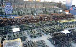arsenal ilegal SPania