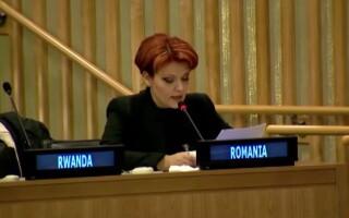 Olguta Vasilescu la ONU