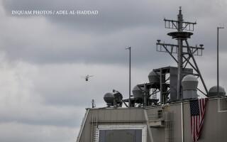Ceremonia de certificare a capacitatii operationale a sistemului de aparare apărare antirachetă Aegis Ashore (AAMDS) din România, la Unitatea de Sprijin Naval de la Deveselu