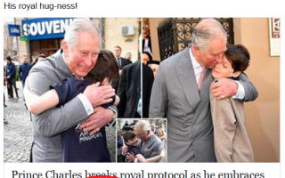 Printul Charles Facebook Daily Mail