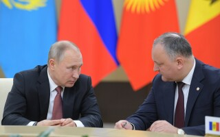 Vladimir Putin si Igor Dodon