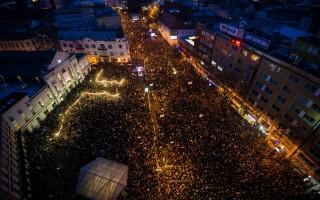 proteste in Slovacia