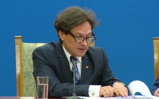 George Ivascu, ministrul Culturii