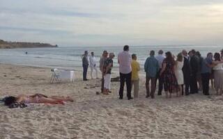 plaja nunta adormita