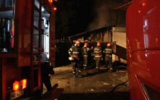 Incendiu Post de Politie Alba