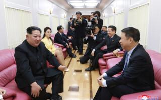 Kim Jong-un in China