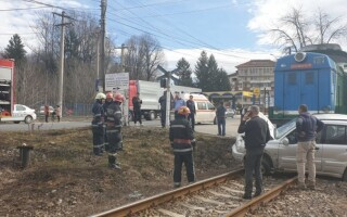 accident tren pucioasa
