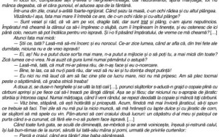 SUBIECTE ȘI BAREM SIMULARE LIMBA ROMÂNĂ, Clasa a VII-a.