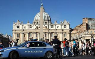 Italia, masina de politie
