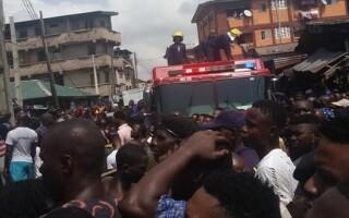 O școală din Nigeria s-a prăbușit