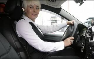 Ani Voinea, șofer de taxi în Spania