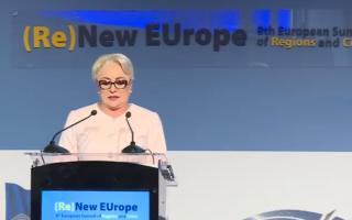 Premierul Dăncilă, la Summit-ul european al regiunilor şi oraşelor