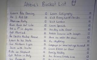 Lista cu ultimele dorințe