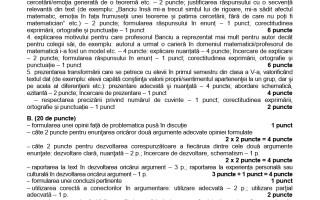 SIMULARE BACALAUREAT 2019. Subiecte și barem de corectare la Limba Română.