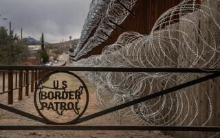 zid la granita dintre SUA si Mexic