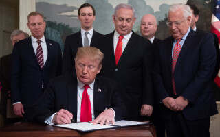 Donald Trump a recunoscut suveranitatea Israelului asupra Platoului Golan - 5