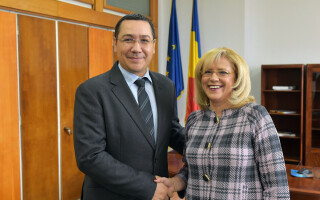 Victor Ponta, Corina Cretu