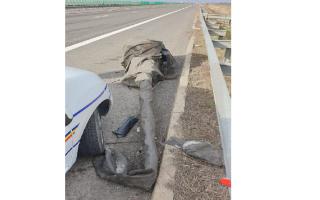Un tanc a produs un accident pe Autostrada Soarelui