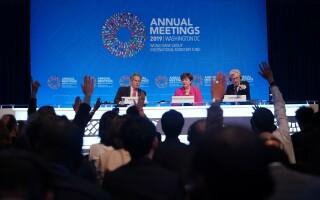Reuniunile FMI și Băncii Mondiale vor avea loc în format virtual de teama coronavirusului