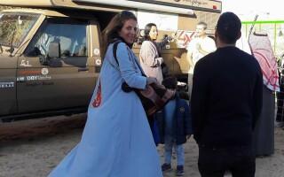 Ieșeanca Nina Gavalle, oprită în Iran din călătoria sa în jurul lumii