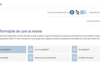Guvernul a lansat site-ul cemafac.ro, pentru lupta contra efectelor Covid-19