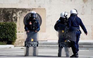 Polițiști din Grecia