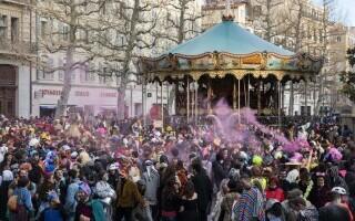 Carnaval neautorizat cu 6.500 de oameni, în Marsilia - 4