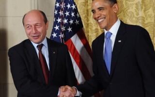 Traian Basescu si Barack Obama