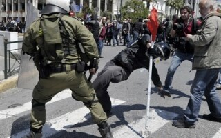 Confruntari la Atena