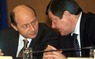 Traian Basescu si Sorin Frunzaverde