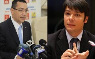 Victor Ponta si Victor Alistar