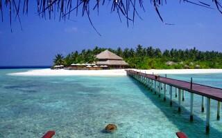 insulele Maldive, plaja
