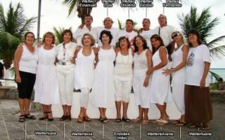 Erotides Brandao cu cei 15 copii