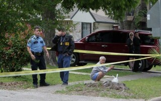 politisti, casa, SUA, Houston, loc jaf
