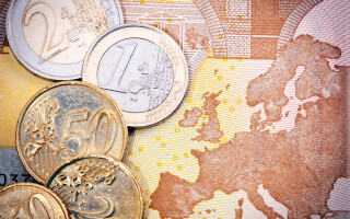 Euro, Harta Europei